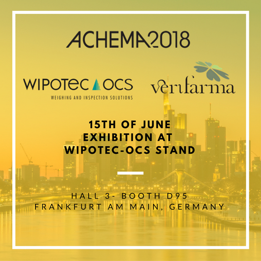 Verifarma at Achema 2018 with WIPOTEC-OCS